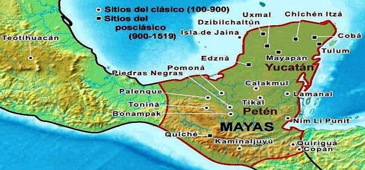 Geografia maya